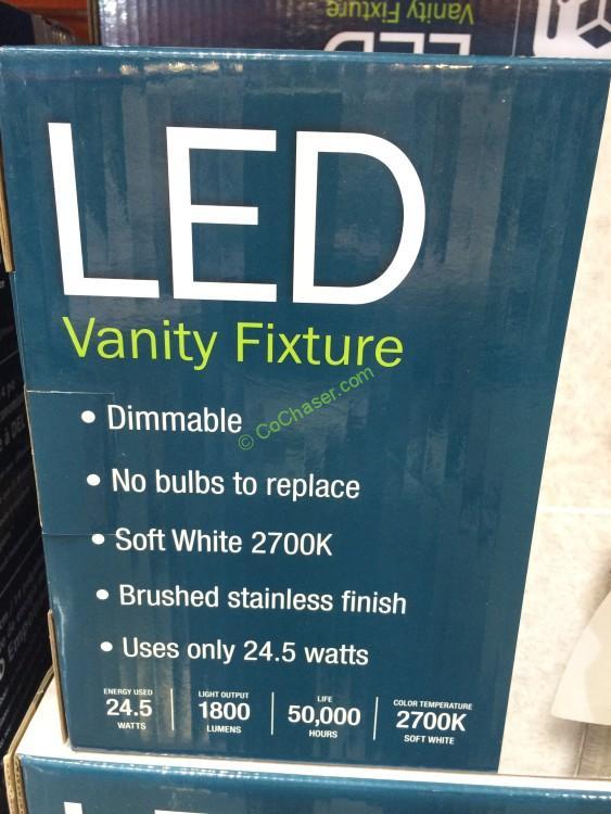 Feit Electric 3 Light Bath Vanity Integrated Led Lights