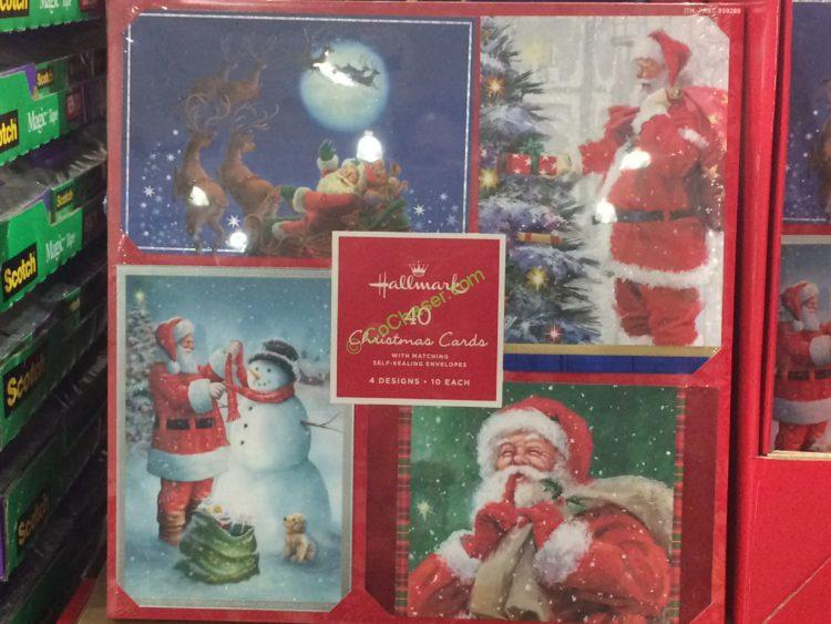 Hallmark Christmas Cards 40 Count CostcoChaser