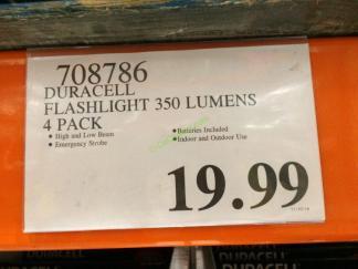 Costco-708786-Duracell-Flashlight-350-Lumens-tag