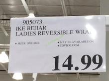Costco-905073-Ike-Behar-Ladies-Reversible-Fashion-Wrap-tag