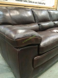 Simon Li Leather Sofa Costcochaser