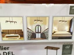 6 Light Led Chandelier By Design Solutions International Inc