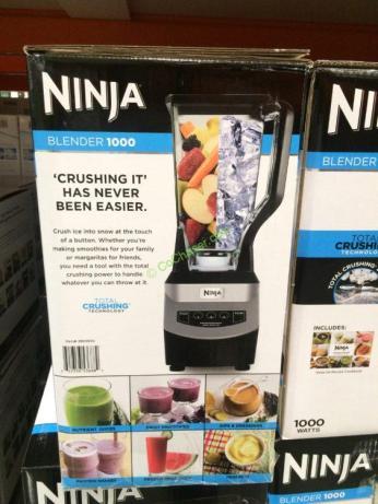 Ninja Pro Blender 1000 Nj600 Costcochaser