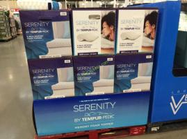Serenity By Tempur Pedic Memory Foam Mattress Topper Queen