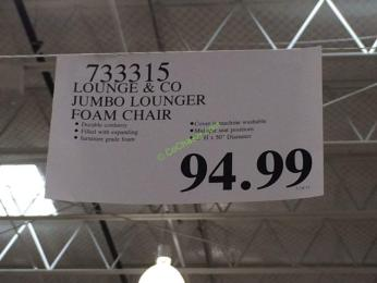 Costco-733315-Lounge-CO-Jumbo-Lounger-Foam-Chair-tag