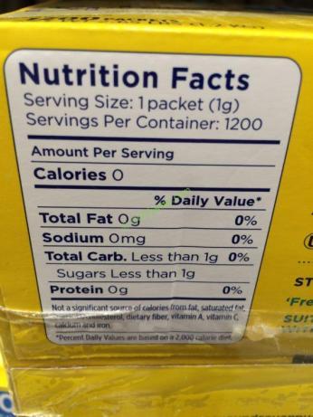 Costco-856255-Splenda-No-Calorie-Sweetener-chart