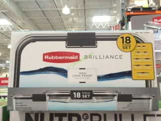 Costco-1103099-Rubbermaid-Brilliance-18PC-Food-Storage-Set-name