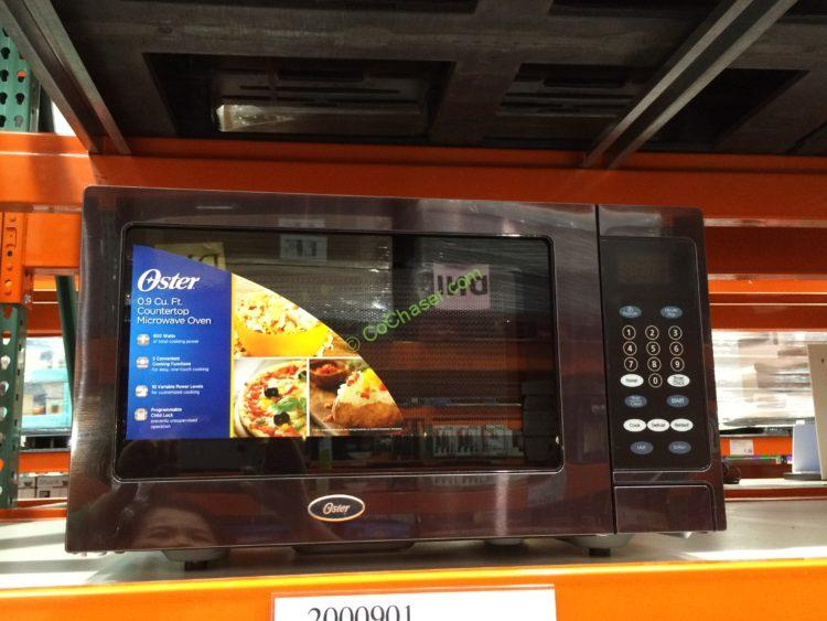 oster 0 9 cuft microwave oven model