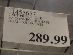 Costco-1455657-Pre-Lit-LE- EZ-Connect-Dual-Color-Christmas-Tree-tag