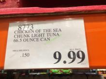 Costco-8773-Chicken- of-the-Sea-Chunk-Light-Tuna-tag