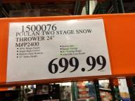 Costco-1500076-Poulan-24-Two-Stage-Snow-Thrower-tag