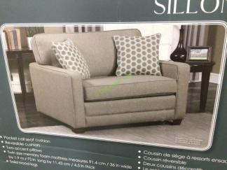 Synergy Home Chair With Twin Sleeper Costcochaser