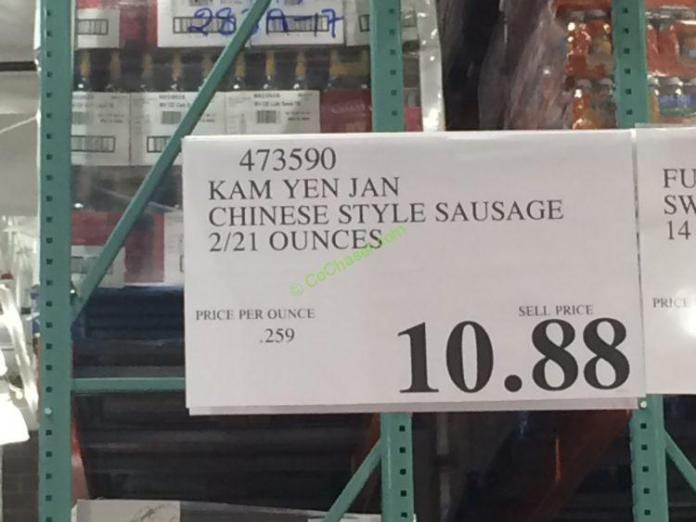 Costco-473590-Kam-Yen-Jan-Chinese-Style-Sausage-tag