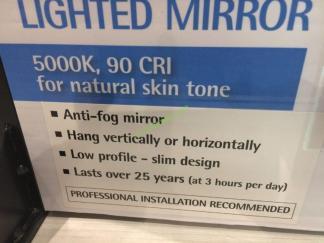 Feit Electric Led Mirror 24 X 32 With Anti Fog