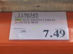 Costco-1156345-Love-Crunch-Organic-Macaroon-Cereal-tag