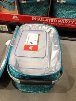 Costco-1187283- IGLOO-Party-Basket-8PC-Plasticware-Set1