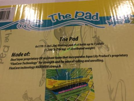 The Pad By Aqua Lily Products Water Pad – CostcoChaser