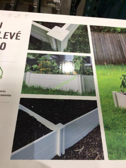 Costco-972194-White-Vinyl-Raised-Garden-Bed-use