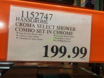 Costco-1152747-Hansgrohe-Croma-Select-Shower-Combo-tag
