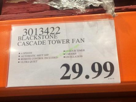Costco-3013422-Cascade-40-Tower-Fan-with-Remote-tag