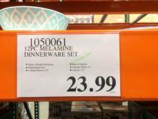 Costco-1050061-12PC- Melamine-Dinnerware-Set-tag