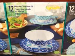 Costco-1050061-12PC- Melamine-Dinnerware-Set1