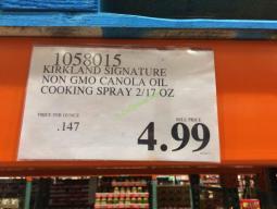 Costco-1058015-Kirkland-Signature-NON-GMO-Canola-Oil-Cooking-Spray-tag