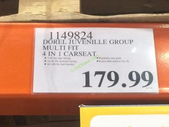 Costco-1149824-Dorel-Juvebile-Group-Safety-1st-MultiFit-4 in1-CarSeat-tag