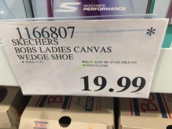 Costco-1166807-Skechers-Bobs-Ladies-Canvas-Wedge-Shoe-tag