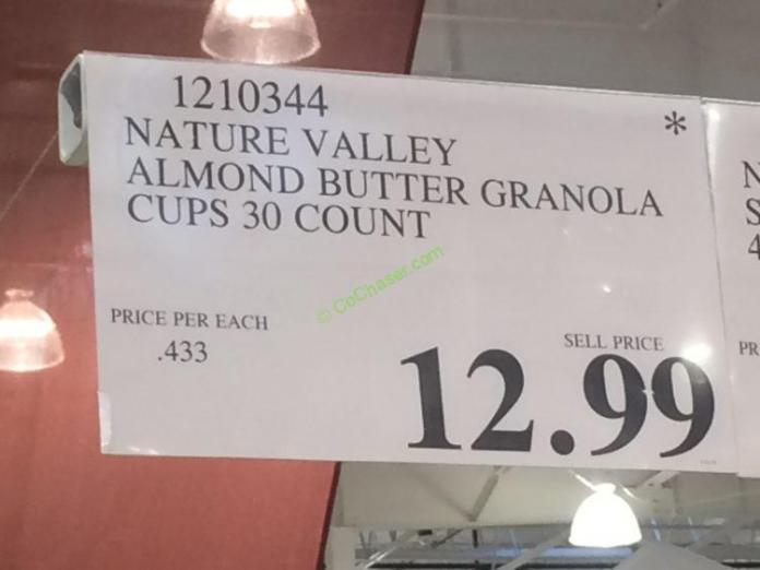 Nature Valley Almond Butter Granola Cups 30 Count – CostcoChaser