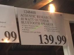 Costco-1248400-Acoustic-Research-40Watt-Outdoor-Bluetooth-Speaker-tag