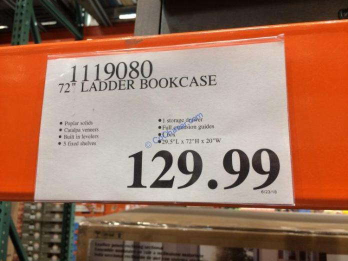 Costco-1119080-72- Ladder-Bookcase-tag