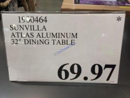 Costco-1900464-Sunvilla-Atlas-Aluminum-32-Dinning-Table-tag