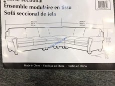 Costco-1118246- Fabric-Sectional-size