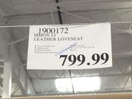 Costco-1900171-1900172-Simon-Li-Leather-Sofa-Loveseat-tag