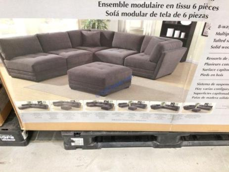 Costco-2000701-6PC-Fabric-Modular-Sectional-pic