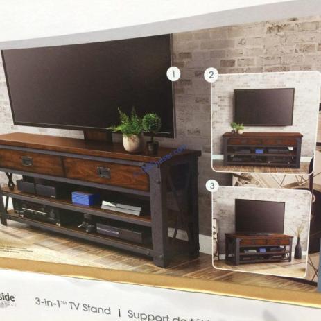 Bayside Furnishings 3 In 1 Tv Stand Costcochaser