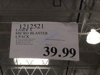 Costco-1212521-LASER X-Micro-Blasters-tag