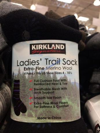 Costco-7547789-Kirkland –Signature-Ladies-Extra-Fine-Merino-Wool-Sock-face