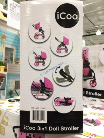 Costco-1197493-iCoo-3-in-1-Doll-Stroller4
