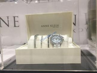 Costco-1255589-Anne-Klein-New-York -Pink -Ceramic –Watch-Bracelet-Set2