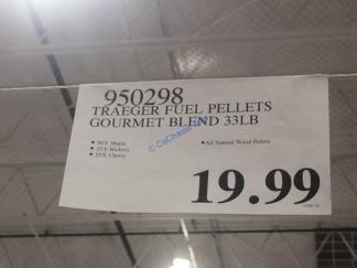Costco-950298-Traeger-Fuel-Pellets-Gourmet-Blend-tag