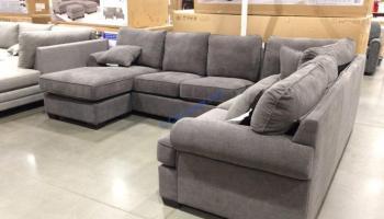 Fantastic Pulaski Furniture Fabric Sofa Chaise Costcochaser Creativecarmelina Interior Chair Design Creativecarmelinacom
