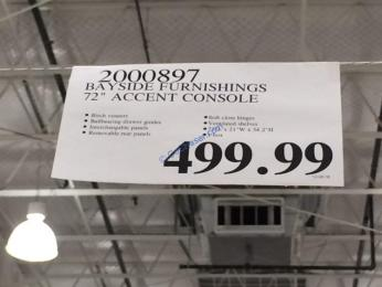Costco-2000897-Bayside-Furnishings-72-Accent-Console-tag