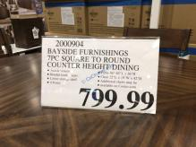 Costco-2000904-Bayside-Furnishings-7PC-Square-to-Round-Counter-Height-Dining- Set-tag