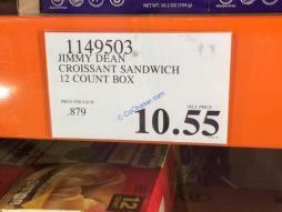 Costco-1149503-Jimmy-Dean-Croissant-Sandwich-tag