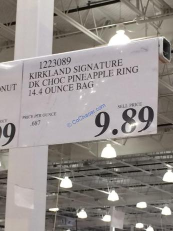 Costco-1223089-Kirkland-Signature-DK-Choc-Pineapple-Ring-tag