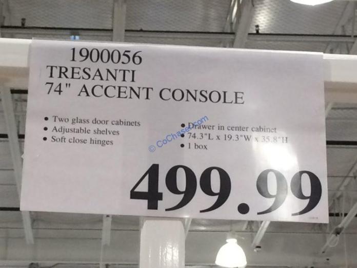 Costco-1900056-Tresanti-74-Accent-Console-tag