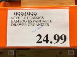 Costco-9994999-Seville-Classics-Bamboo-Expandable-Drawer-Organizer-tag