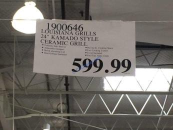 Costco-1900646-Louisiana-Grills-24- Kamado-Style-Ceramic-Grill-tag